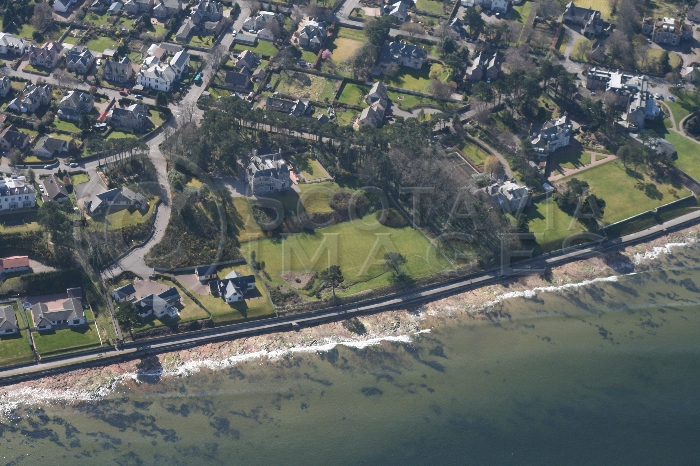 Aerial photography Scotland Nairn