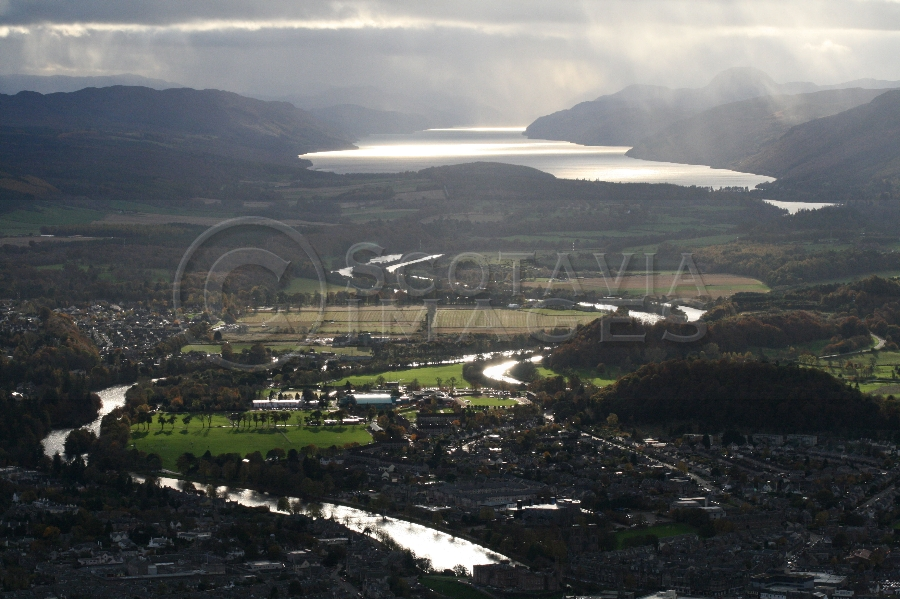 aerial photography scotland scottish scenery Inverness loch ness