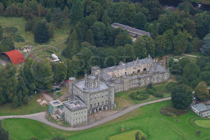 Scottish castle Taymouth clan Campbell