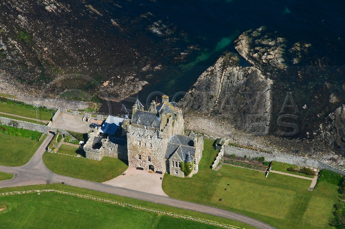 Scottish Castle Ackergill Sinclair Cheynes Oliphant clans hotel