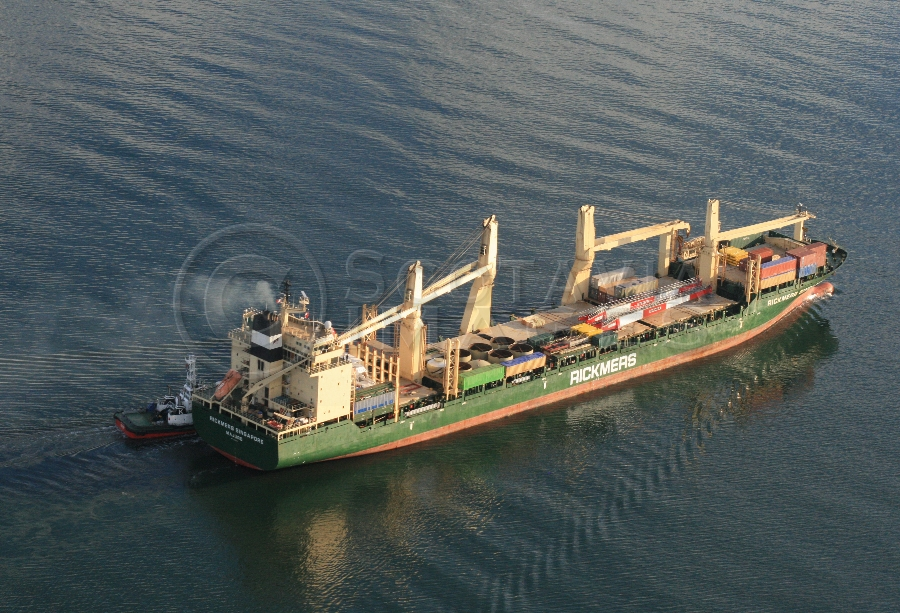 aerial photography scotland Ship