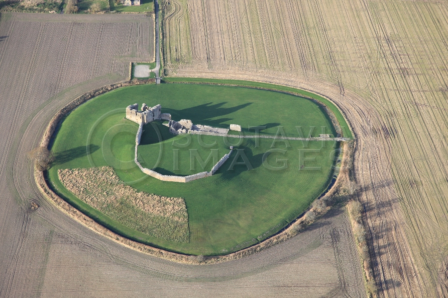 Scottish Castle Duffus Moray Freskin Flemish Norman Clan Murray Sutherland  Motte and Bailey