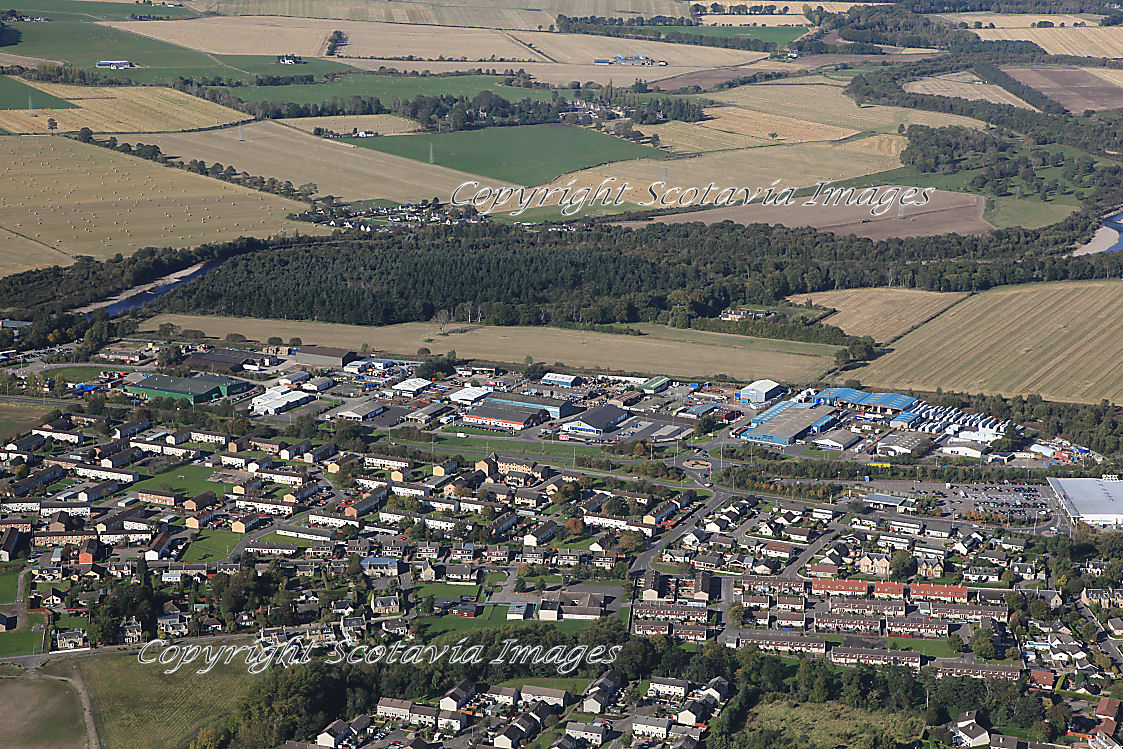 Aerial photography Scotland  Forres C