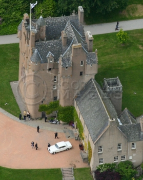 Scottish castles Crathes Castle