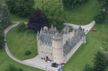 Scottish castle Fraser clan