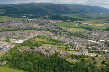 Scottish Castle stirling wallace monument town bridges