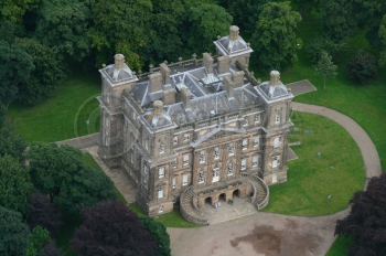 Aerail photography Scotland Duff House Banff
