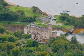 Scottish Castles Dunvegan Isle of Skye clan Macleod