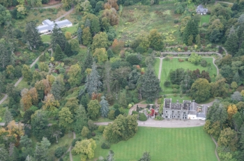 Scottish Scenery Clan Donald centre Isle of Skye Armadale castle