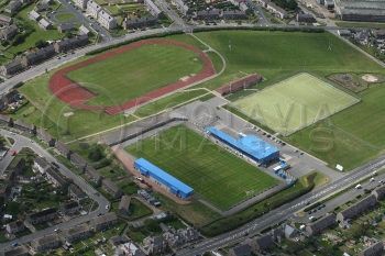 Football Stadiums Peterhead sports aerial