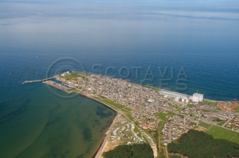 scottish scenery aerial photography scotland burghead