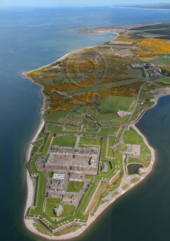 Aerial photography Scotland Scottish castles fort george