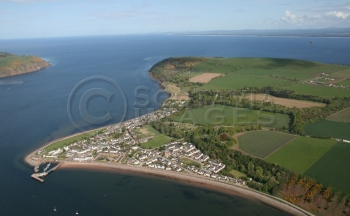 scottish scenery aerial photography scotland Cromarty