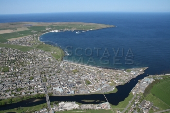 scottish scenery aerial photography scotland thurso