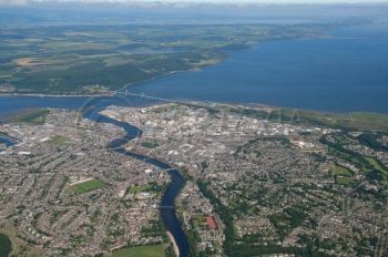 scottish scenery aerial photography scotland Inverness