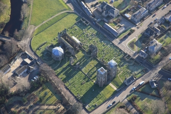 aerial photography scotland Elgin