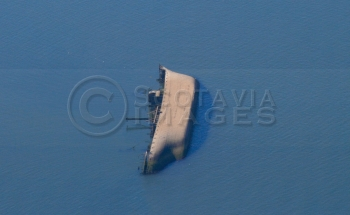 aerial photography scotland shipwreck