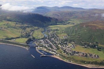 aerial photography scotland Scottish scenery helmsdale