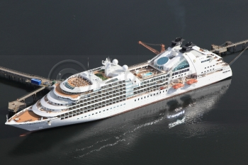 Aerial photography scotland Seabourne Sojourn