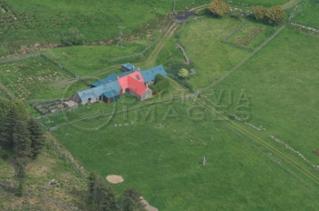 Scottish scenery Aerial photography Scotland high park farm