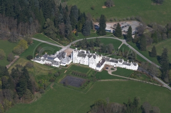 Scottish Castle Blair Castle Duke of Atholl  current owner