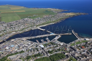 aerial photography scotland wick