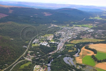scottish scenery aerial photography scotland aviemore