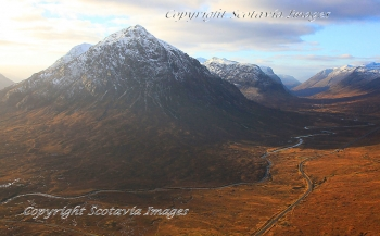 Scottish scenery Glencoe from the East