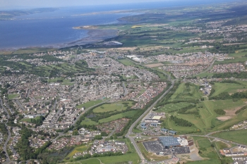 aerial photography scotland scottish scenery Inverness south