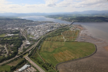 Aerial photography Scotland scottish scenery Inverness Longman