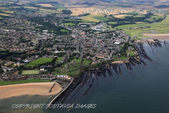 Aerial photography Scotland St Andrews