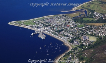 Aerial photography Scotland Scottish scenery Ullapool