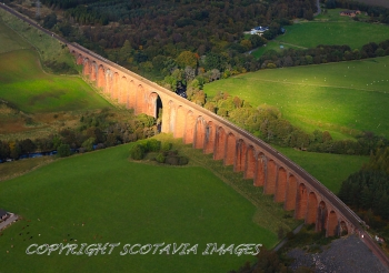 Aerial photography Culloden Viaduct