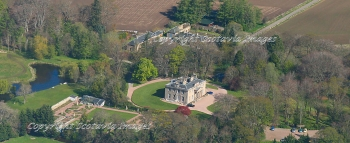 Aerial photography Scotland  Boath House Nairn