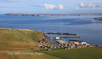 Aerial photography Scotland  Scrabster Caithness