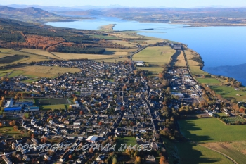 Aerial photography Scotland Tain