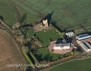 Scottish scenery ,Aerial photography Scotland,Scottish Castle,