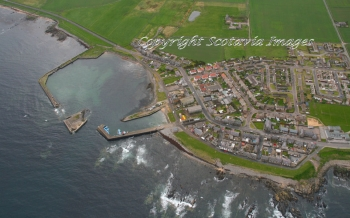 Aerial photography Scotland Pittoulie