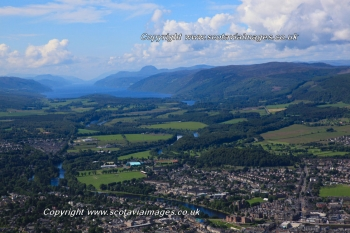 Scottish scenery ,Aerial photography Scotland,