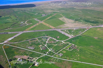 Aerial photography Scotland  Tain airfield