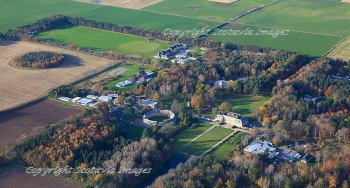 Aerial photography Scotland Gordonstoun school